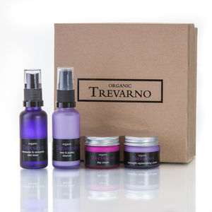 Lavender And Geranium Facial Gift Set