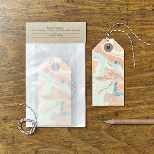 Marbled 04 Gift Tags