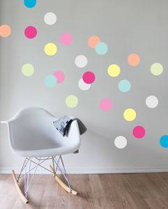 Gelato Dots Wall Stickers - wall stickers