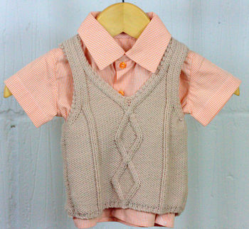 BabyTank Top Hand Knit