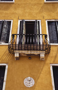 Balcony, Venice, Italy, Signed Photographic Art Print - posters & prints