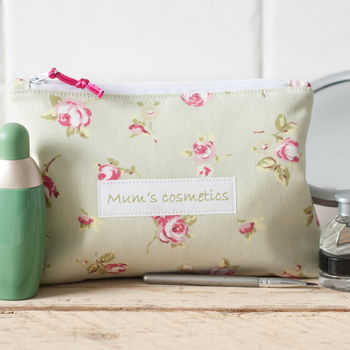 Personalised Cosmetic Bag