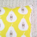Pear Cushion