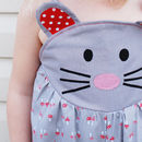 Baby Girls Mouse Summer Play Suit Romper