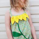 Sunflower Baby Girls Beach Romper Playsuit