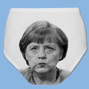 Political Pants Angela Merkel