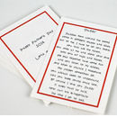 Fathers day promise cards daddy verse