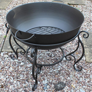 Bowl Fire Pit On Stand
