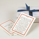 Personalised Father's Day Promise Cards For Daddy
