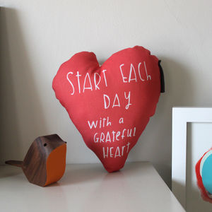 Grateful Heart Cushion