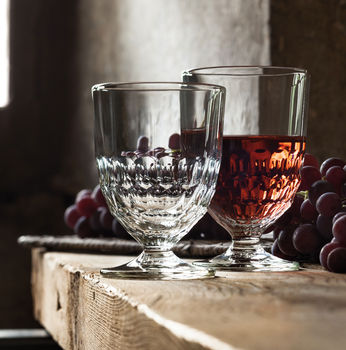 Provence Wine Glass And Water Glass
