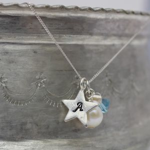 Birthstone And Charm Necklace - shop by occasion
