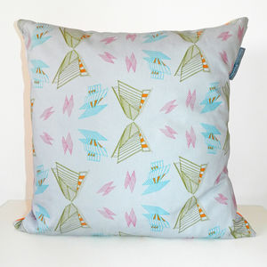 Architectural Butterflies Cushion Cover