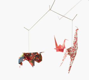 Baby Zoo Origami Mobile