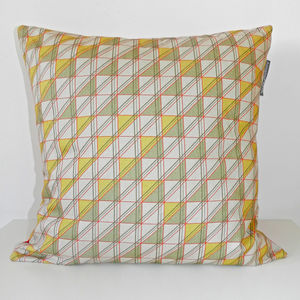 Triangular Windows Cushion Cover