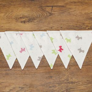 Scottie Dog Bunting For Weddings, Parties Or Home Decor - children's decorative accessories