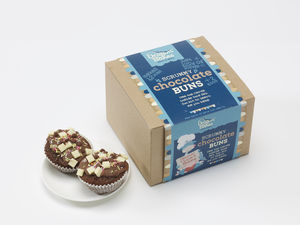 Child's Learn To Bake Chocolate Buns Kit - make your own kits