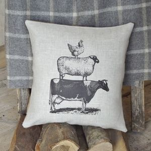 ' Farmyard Animals ' Cushion - cushions