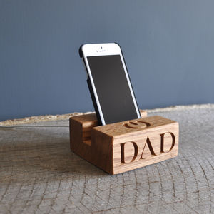Dad's iPhone /Kindle/Gadget Stand - mens