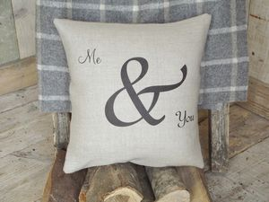 ' Me And You ' Cushion - decorative accessories