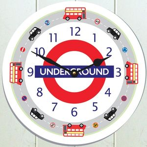 London Transport Clock - decorative accessories