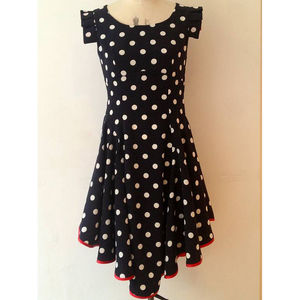 Spotty Swirl Dress