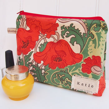 Make Up Bag Clementina Liberty Print