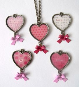Love Hearts Bronze Necklace - necklaces