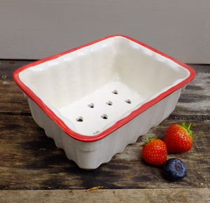 Ceramic Berry Punnet