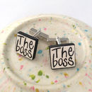 'The Boss' Cufflinks