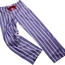 Blue And Red Stripe Pyjama Bottoms