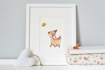 Dolly Deer Fine Art Print
