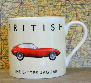Best Of British Jaguar Mug