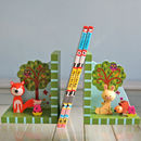 Woodland Critters Bookends