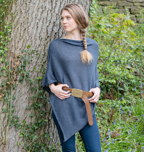 Alpaca Multi Way Poncho - for grandmothers