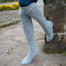 Long Everyday Ladies Alpaca Knee Socks