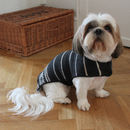 Fairisle Stripe Alpaca Dog Jacket