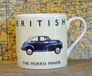 Best Of British Morris Minor Mug