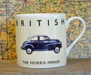 Best Of British Morris Minor Mug - mugs