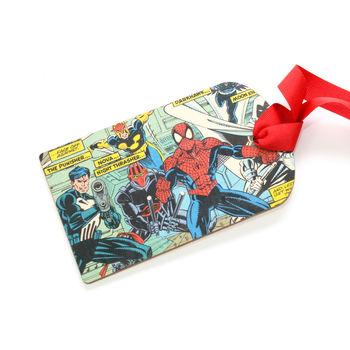 Comic Strip Luggage Tag