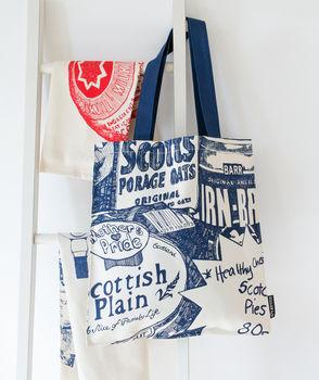 Scottish Breakfast Zoom Tote Bag