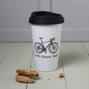 Personalised Cyclist's Travel Mug - view all father's day gifts