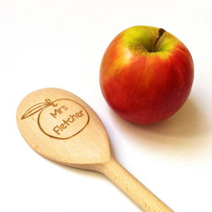 Thank You Teacher Personalised Spoon - gifts for teachers