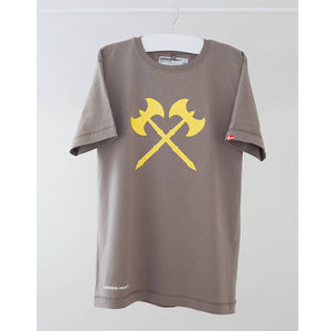 Denmark Crossed Axes T Shirt - women's fashion