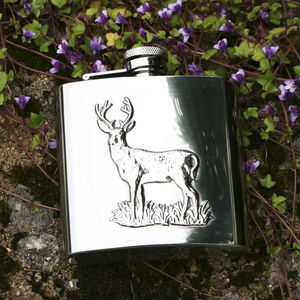Stag Hip Flask - stag do styling & gifts