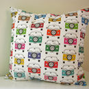 Campervan Holiday Cushion