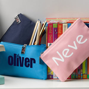 Personalised Pencil Case - more