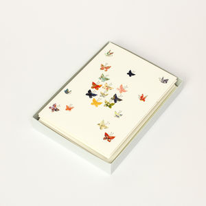 Butterfly Luxury Boxed Card Set - shop by category