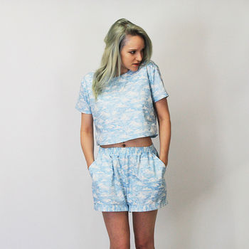 Alexa Cloud Print Co Ord Two Piece