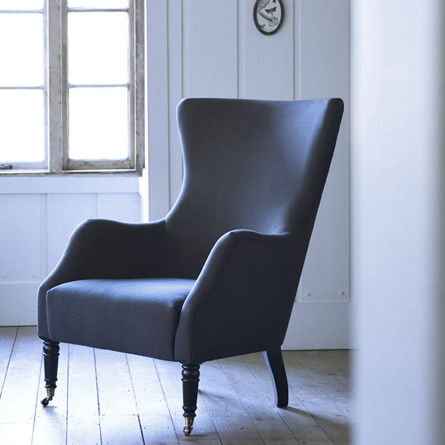 Bromley Wing Back Chair By Rowen Amp Wren